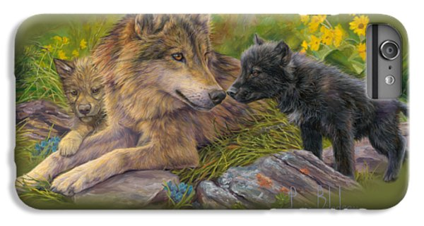 Wildlife iPhone 6 Plus Case - Unconditional Love by Lucie Bilodeau