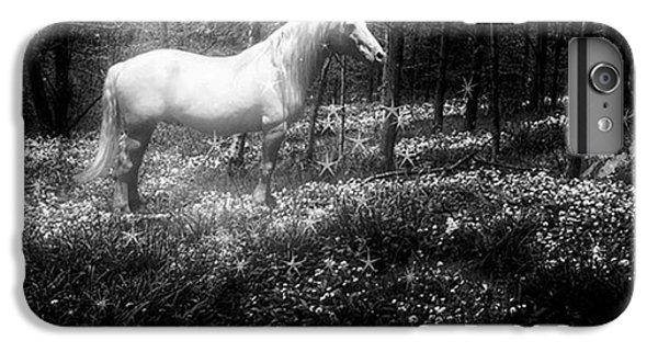 Under A Moonlit Sky  #fantasy #unicorn IPhone 6 Plus Case by John Edwards