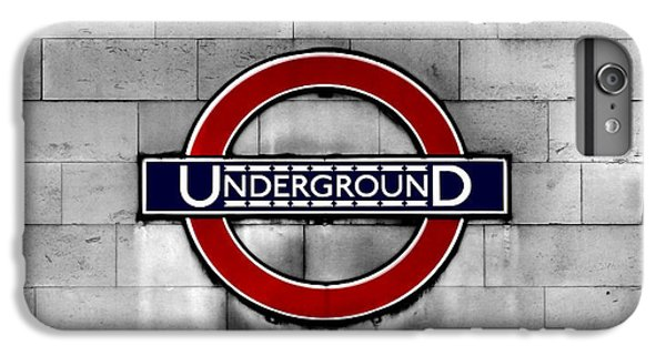 Underground IPhone 6 Plus Case by Mark Rogan