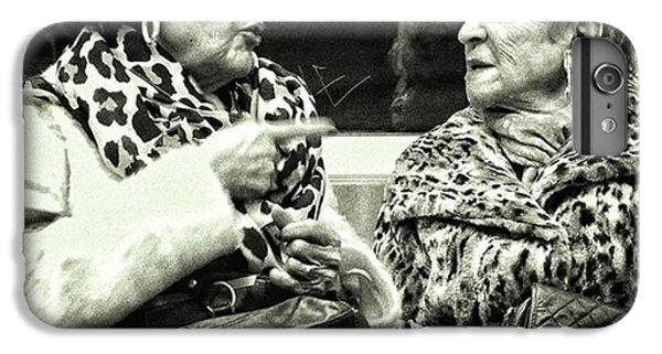 London iPhone 6 Plus Case - Underground Wild Ladies #women #ladies by Rafa Rivas