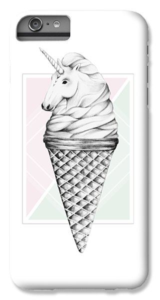 Unicorn iPhone 6 Plus Case - Unicone by Barlena