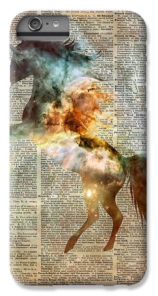 Unicorn Carina Nebula IPhone 6 Plus Case by Jacob Kuch