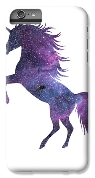 Unicorn iPhone 6 Plus Case - Unicorn In Space-transparent Background by Fundacja Rozwoju Przedsiebiorczosci