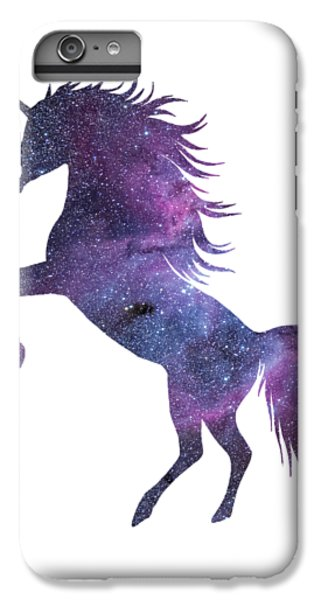 Unicorn In Space-transparent Background IPhone 6 Plus Case by Jacob Kuch