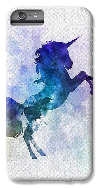 Unicorn IPhone 6 Plus Case by Rebecca Jenkins