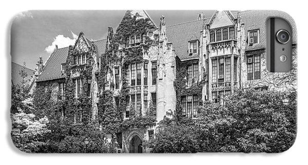 University Of Chicago Eckhart Hall IPhone 6 Plus Case by University Icons