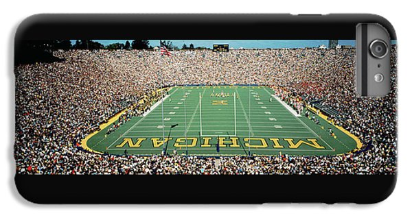 University Of Michigan Stadium, Ann IPhone 6 Plus Case by Panoramic Images