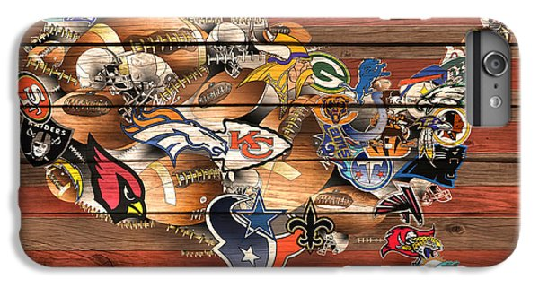 Usa Nfl Map Collage 6 IPhone 6 Plus Case