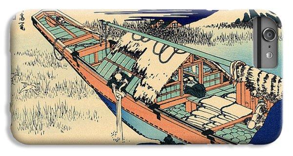 Ushibori In The Hitachi Province IPhone 6 Plus Case by Hokusai