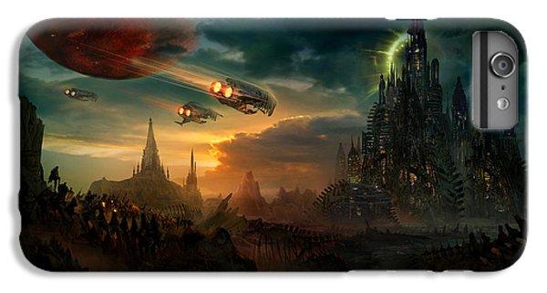 Utherworlds Sosheskaz Falls IPhone 6 Plus Case by Philip Straub
