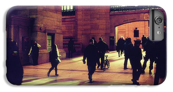 IPhone 6 Plus Case featuring the photograph Grand Central Rush by Jessica Jenney