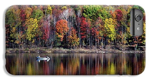 Vanishing Autumn Reflection Landscape IPhone 6 Plus Case by Christina Rollo