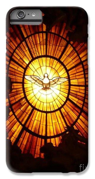 Dove iPhone 6 Plus Case - Vatican Window by Carol Groenen
