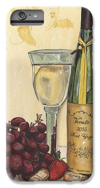 Strawberry iPhone 6 Plus Case - Veneto Pinot Grigio by Debbie DeWitt