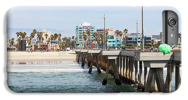 Venice Beach From The Pier IPhone 6 Plus Case by Ana V Ramirez