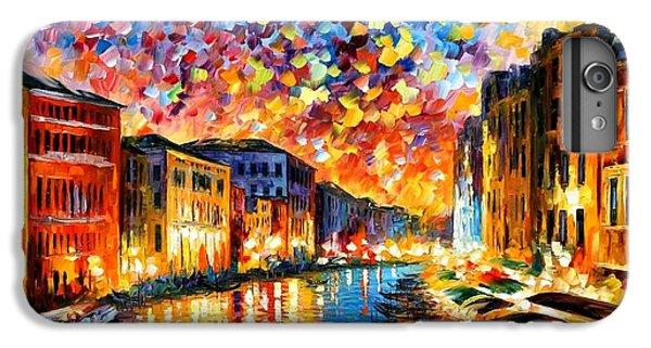 Afremov iPhone 6 Plus Case - Venice - Grand Canal by Leonid Afremov