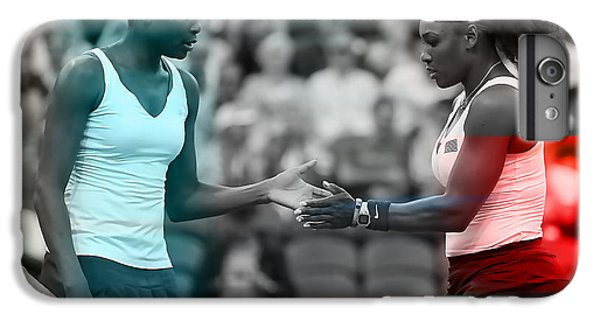 Venus Williams iPhone 6 Plus Case - Venus Williams And Serena Williams by Marvin Blaine