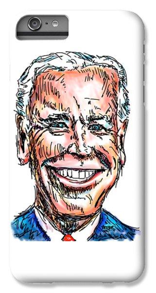 Vice President Joe Biden IPhone 6 Plus Case by Robert Yaeger