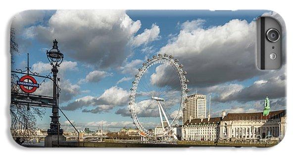 Victoria Embankment IPhone 6 Plus Case by Adrian Evans