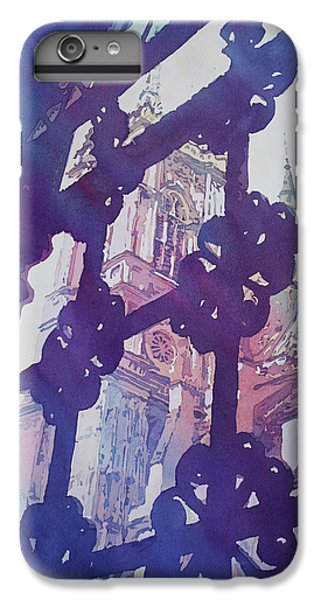View From The Cloister IPhone 6 Plus Case by Jenny Armitage