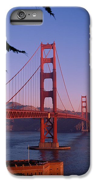 View Of The Golden Gate Bridge IPhone 6 Plus Case by American School