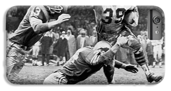 Football iPhone 6 Plus Case - Viking Mcelhanny Gets Tackled by Underwood Archives