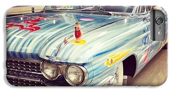 Classic iPhone 6 Plus Case - Vintage Car At The Mobile Airport #car by Joan McCool