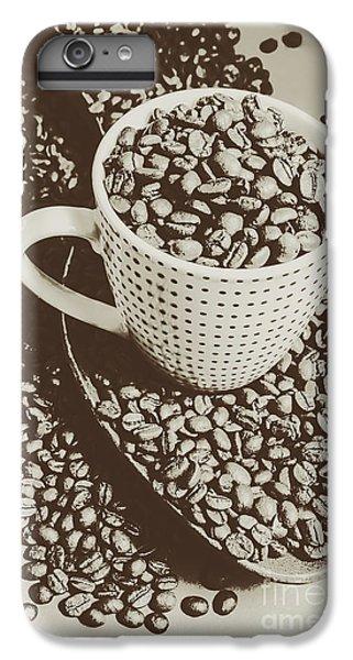 Vintage Coffee Art. Stimulant IPhone 6 Plus Case