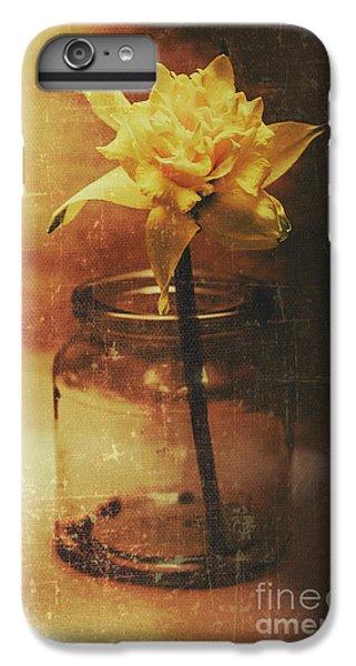 Vintage Daffodil Flower Art IPhone 6 Plus Case