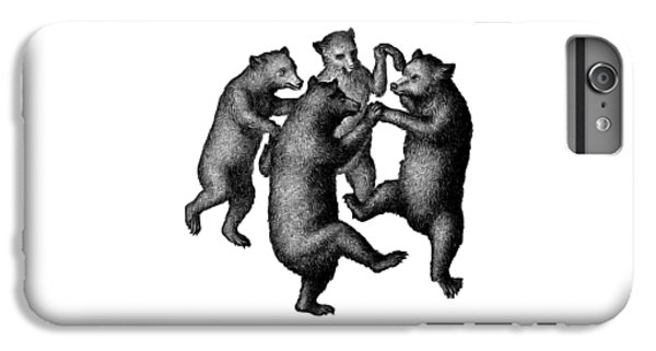 Vintage Dancing Bears IPhone 6 Plus Case by Edward Fielding