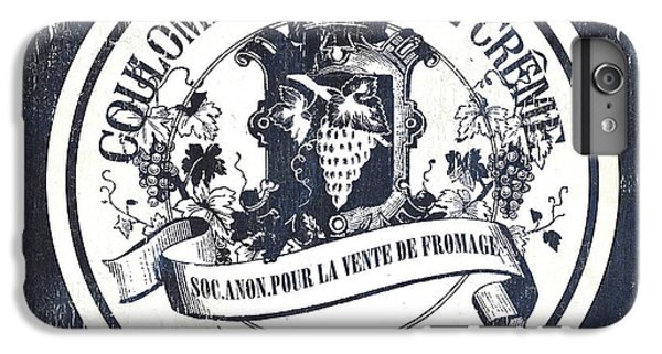 Goat iPhone 6 Plus Case - Vintage French Cheese Label 2 by Debbie DeWitt
