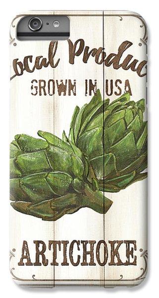 Vintage Fresh Vegetables 2 IPhone 6 Plus Case by Debbie DeWitt