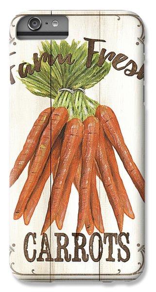 Vintage Fresh Vegetables 3 IPhone 6 Plus Case by Debbie DeWitt