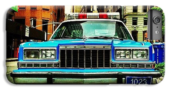 Vintage Nypd. #car #nypd #nyc IPhone 6 Plus Case