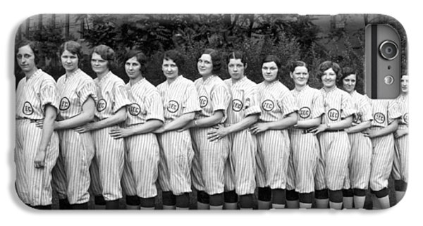 Vintage Photo Of Women's Baseball Team IPhone 6 Plus Case by American School