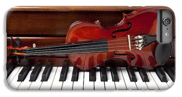 Violin On Piano IPhone 6 Plus Case