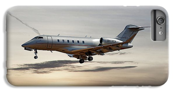 Jet iPhone 6 Plus Case - Vista Jet Bombardier Challenger 300 by Smart Aviation