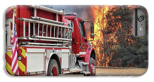 IPhone 6 Plus Case featuring the photograph Volunteer Firefighters by JC Findley