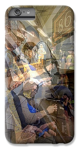 Waiting For 6 Train Collage IPhone 6 Plus Case by Dave Beckerman
