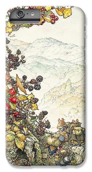 Mouse iPhone 6 Plus Case - Walk To The High Hills by Brambly Hedge