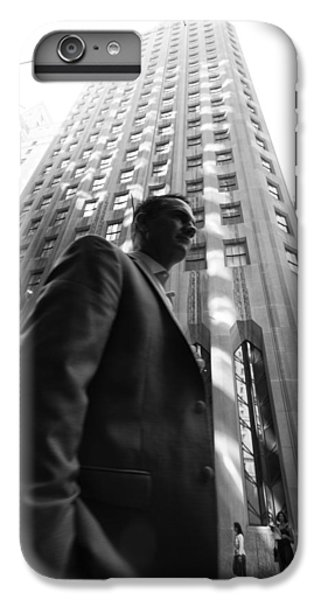 Wall Street Man II IPhone 6 Plus Case by Dave Beckerman