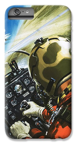 War In The Air IPhone 6 Plus Case by Wilf Hardy