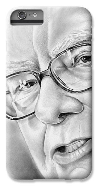 Wizard iPhone 6 Plus Case - Warren Buffett by Greg Joens