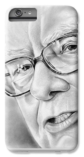 Warren Buffett IPhone 6 Plus Case by Greg Joens