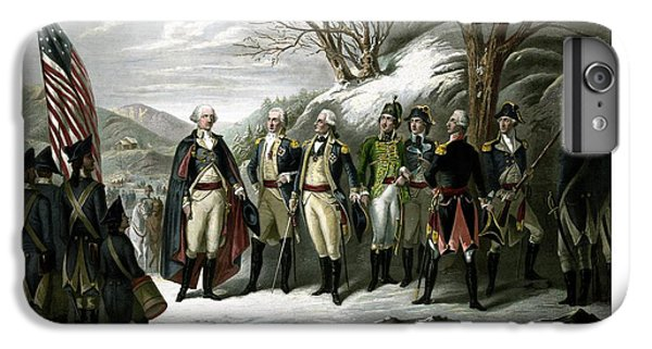 Washington And His Generals  IPhone 6 Plus Case by War Is Hell Store