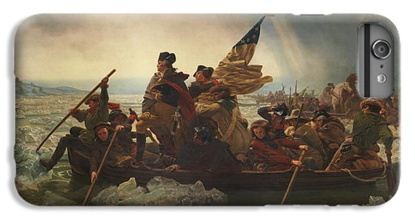 Washington Crossing The Delaware IPhone 6 Plus Case by War Is Hell Store