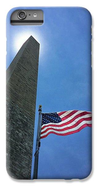 Washington Monument IPhone 6 Plus Case by Andrew Soundarajan