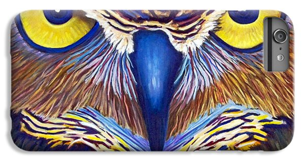 Owl iPhone 6 Plus Case - Watching by Brian  Commerford