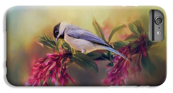 Watching Flowers Bloom Bird Art IPhone 6 Plus Case by Jai Johnson