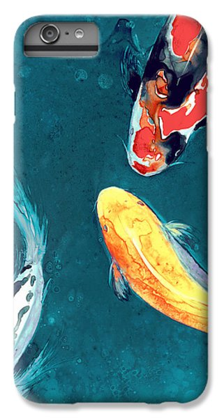 Water Ballet IPhone 6 Plus Case by Brazen Edwards
